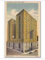 Mayflower Hotel Mini Poster Print
